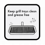 Cooking Grill Switched Accidentally Storing Incase Avoid
