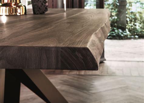 bonaldo big dining table  american walnut  natural