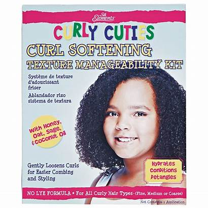 Kit Curly Curl Cuties Texture Softening Manageability