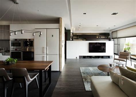 Intérieur Maison Moderne Avec Décoration Asiatique