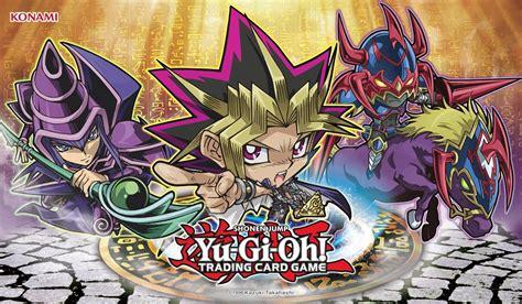 tapis yu gi oh yugioh duelist kingdom yugi mat chibi on sale at toywiz