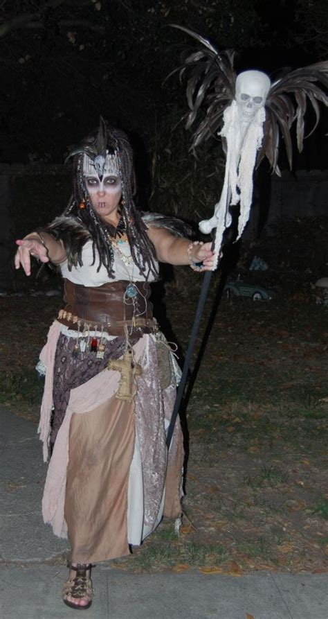 witch doctor costume voodoo halloween costumes priestess mardi makeup gras flawssy decorations swamp staff witches scary steampunk bones doctors disqus