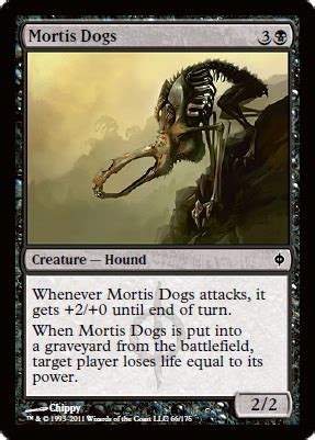 Channel Fireball  Mortis Dogs  Magic Singles » Scars Of