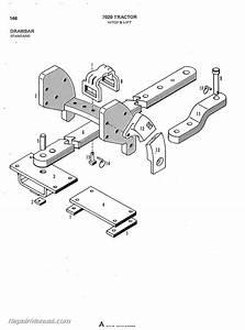 Allis Chalmers 7020 Diesel Tractor Parts Manual