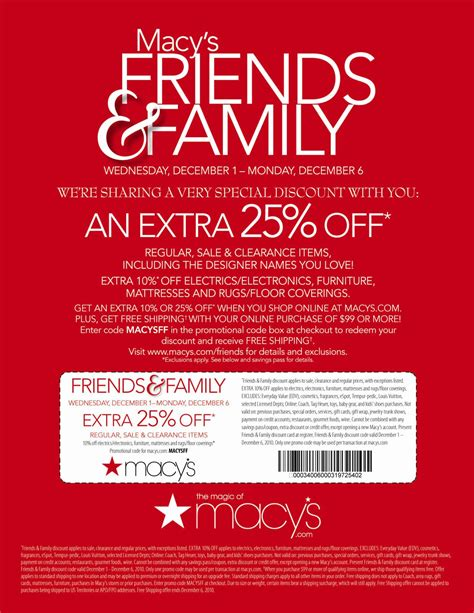 23737 Saturday Promo Code printable macy s coupons printable coupons