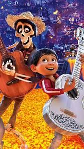 Wallpaper Coco, Hector, Miguel, Dante, Pixar, Animation