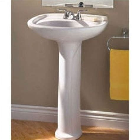american standard colony sink american standard colony 24 quot pedestal sink bowl only 0113