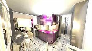 Interior design ideas 1 bedroom flat 36m2 for 1 bedroom flat interior design ideas