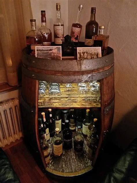 Fass Als Bar Umbauen by Meine Whisky Fass Bar Altes Rotwein Fass Whisky Fass