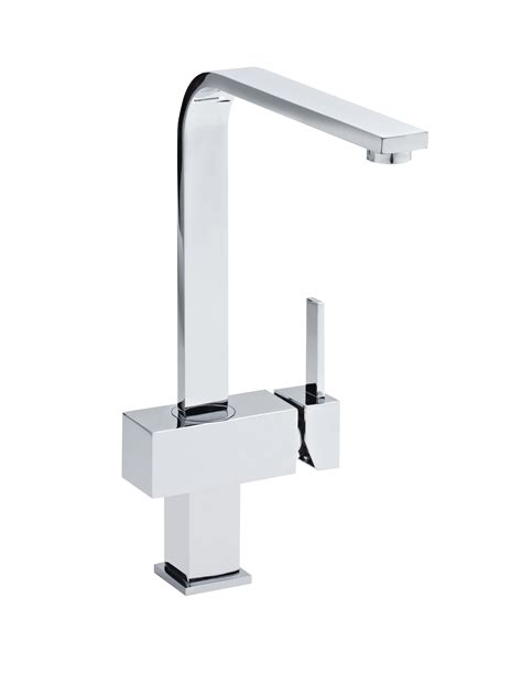 sink taps kitchen chrome single lever side mixer tap serenity 2280