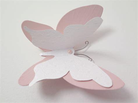 deco papillon en papier des stickers papillon en 3d pour une chambre de b 233 b 233 du bonheur en cr 233 ation