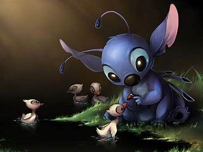 Stitch Lilo Duck Wallpapers Background Wall