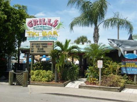 grills seafood deck tiki bar cape canaveral menu