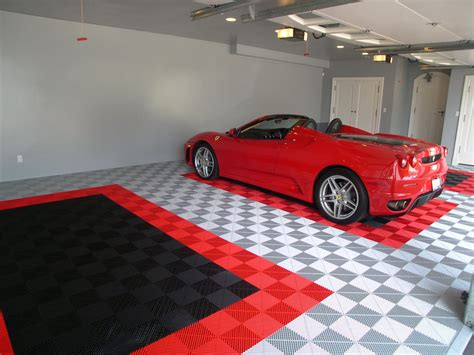 The Garage Floor To Highlight Your Ride