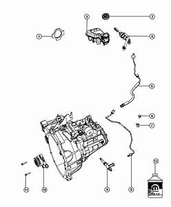 2010 Dodge Caliber Screw   Full Size Spare Tire W  Matching Whl   Module  Train  Power