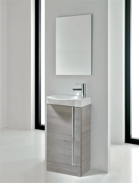 Bathroom Mirror Units by Elegance Floor Standing Cloakroom Unit And Mirror Set