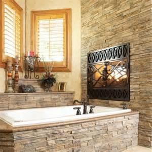 tub surround bathroom ideas dark contemporary rustic