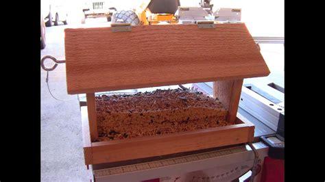 build  bird feeder small diy woodworking project