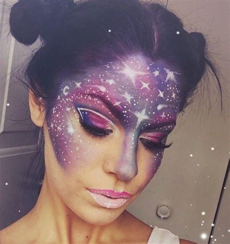 schminken vir galaxy make up der hei 223 este schminktrend aus dem instagram makeup fasching