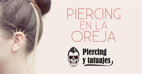nombres de los tipos de piercing en la oreja hombre  mujer