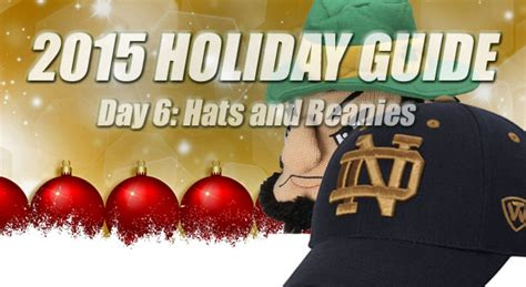 christmas gifts for notre dame fans notre dame hats 2015 gift guide uhnd com