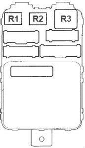 Acura Mdx Auxiliary Fuse Box by Acura Mdx 2001 2006 Fuse Box Diagram Auto Genius