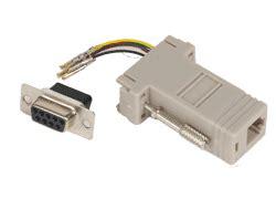 accessory ap0007900 modular db9 to rj 11 adapter unconfigured