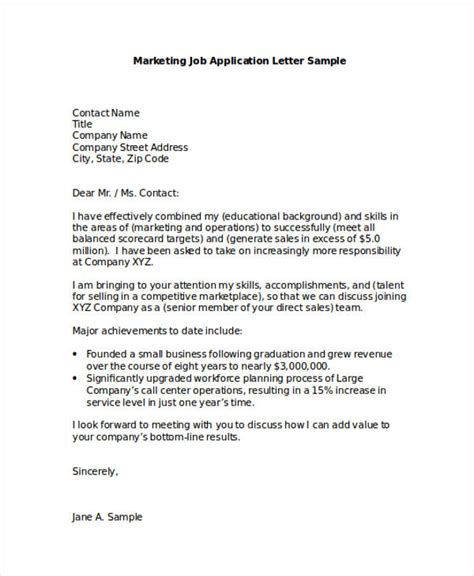 application letter  professional cover