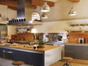 deco cuisine industriel photo d 233 coration salon aire ouverte par deco