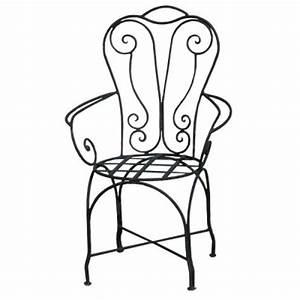 Armchair for indoor or outdoor Wrought Iron Armchair