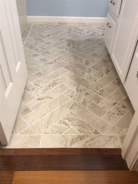 Groutable Vinyl Tile In Bathroom by Peel And Stick Light Travertine 18 Quot X 18 Quot From Home Depot