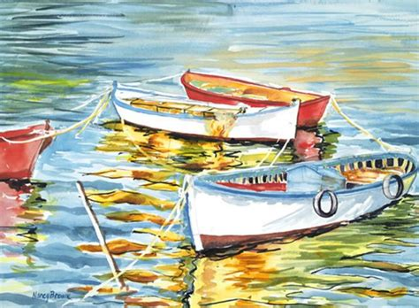 Boat Reflection Quotes by 144 Best Rowboats To Paint Images On Pinterest Oil
