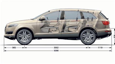 Audi Q7 Interior Dimensions by Q7 Interior Space Audiworld Forums