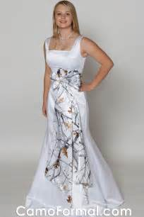 snow camo wedding dresses running my happy