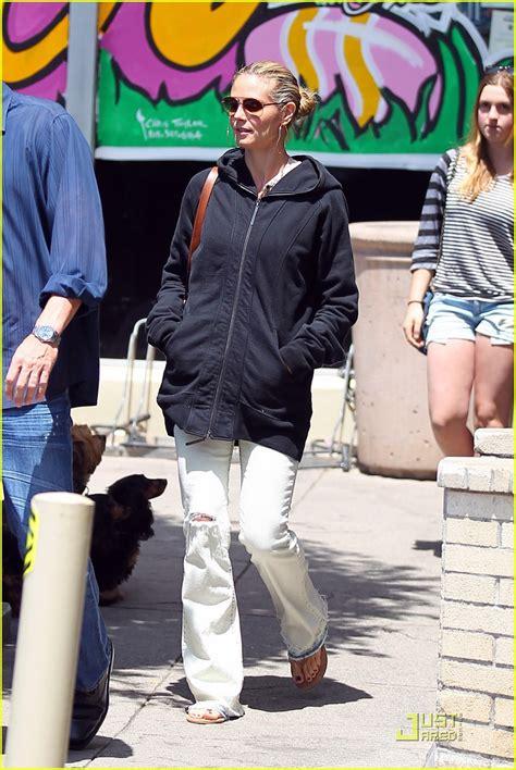 Heidi Klum Seal Grocery Shopping Couple Photo