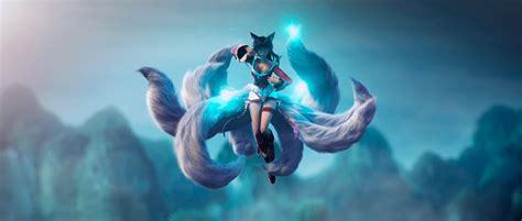 Come theorise who the last three princesses will be ! Ahri Fox-Fire LOL Wallpaper   League of legends, Ahri lol ...
