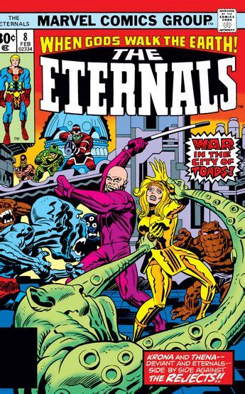 Eternals to replace Inhumans and what key issues to ...