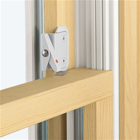 andersen double hung window opening control device kit  white color windowpartscom