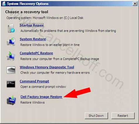 Dell 2400mp L Reset by Restore Dell Studio To Factory Settings Lancelhoff