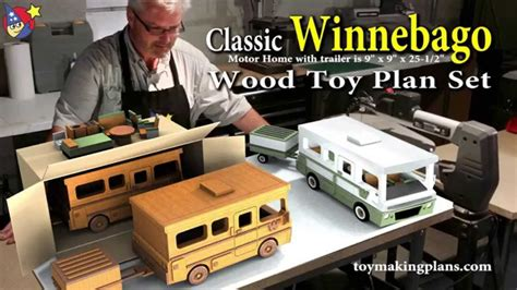 wood toy plans classic winnebago youtube