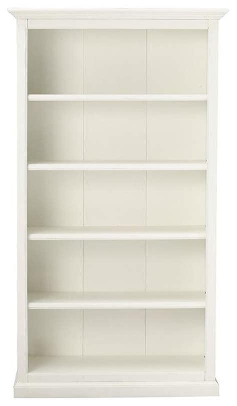 Martha Stewart Living Ingrid Bookcase, Rubbed Ivory, 5