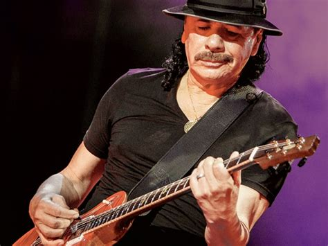 Carlos Santana Talks Playing Music With Wife And Show At