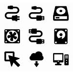 Hardware Computer Icon Icons Packs Vector Font
