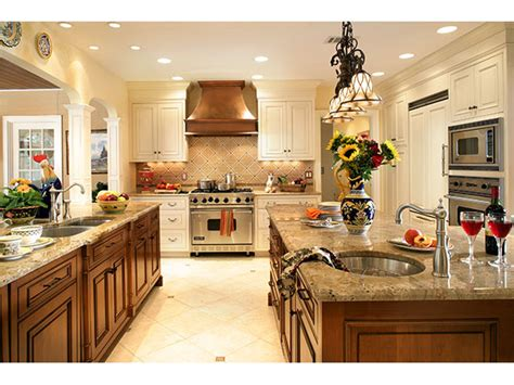 French Country Gourmet Kitchen  Video And Photos