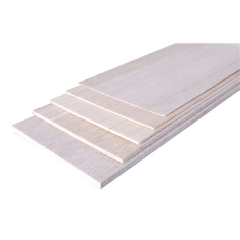 wood bois planche balsa 1000 x 100 x 10 mm mcm