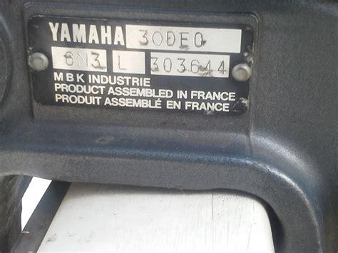 identifier un vehicule avec numero de serie numero de serie moto yamaha id 233 e d image de moto
