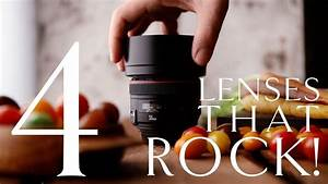 4 Best Lenses For Food Photography - YouTube