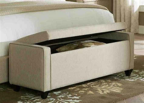 Padded Bench Seat With Storage  Home Furniture Design