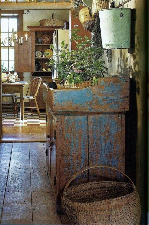 Old Fashion Country Kitchen Primitive Farmhouse Decor