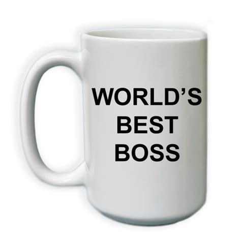 Black mugs are a slightly softer black than it appears in the preview where the design is printed. World's Best Boss   15 oz Coffee Mug - Walmart.com - Walmart.com